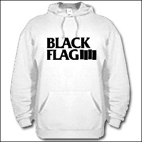 Black Flag - Logo Hooded Sweater