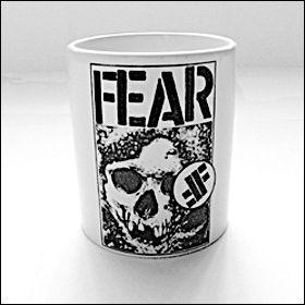 Fear - Skull Tasse