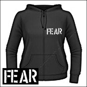 Fear - Logo Girlie Zipper