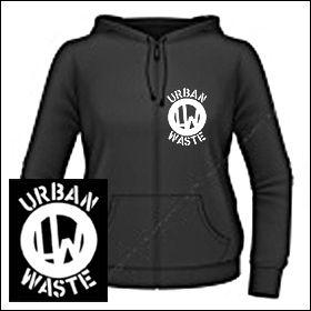 Urban Waste - Logo Girlie Zipper