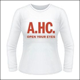 America's Hardcore - Open Your Eyes Girlie Longsleeve