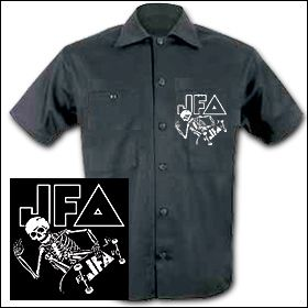 JFA - Skate To Hell Workershirt