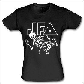 JFA - Skate To Hell Girlie Shirt
