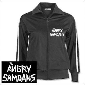 Angry Samoans - Logo Girlie Trainingsjacke