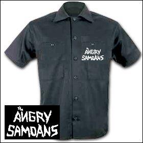 Angry Samoans - Logo Workershirt