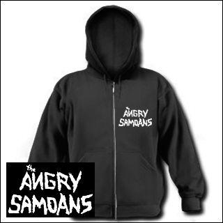 Angry Samoans - Logo Zipper