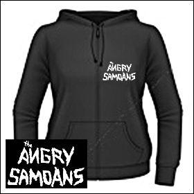 Angry Samoans - Logo Girlie Zipper