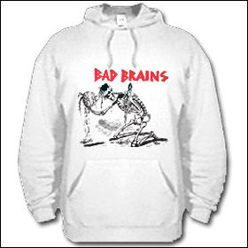 Bad Brains - Skeleton Hooded Sweater