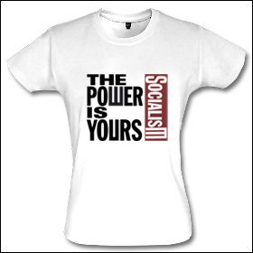 The Power Is Yours - Girlie Shirt