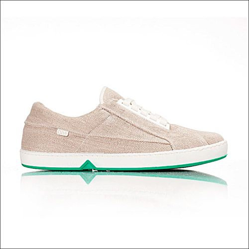 Oat Virgin Green Sneaker (Beige/Beige)