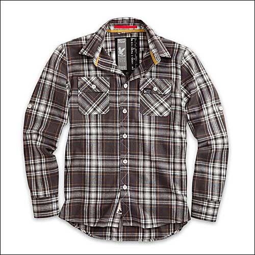Lumberjack Shirt grau