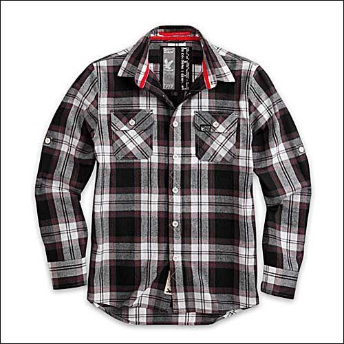 Lumberjack Shirt schwarz