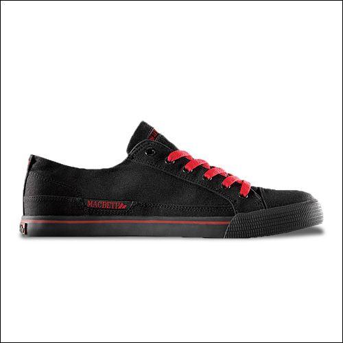 Macbeth Matthew Sneaker (Schwarz/Rot)