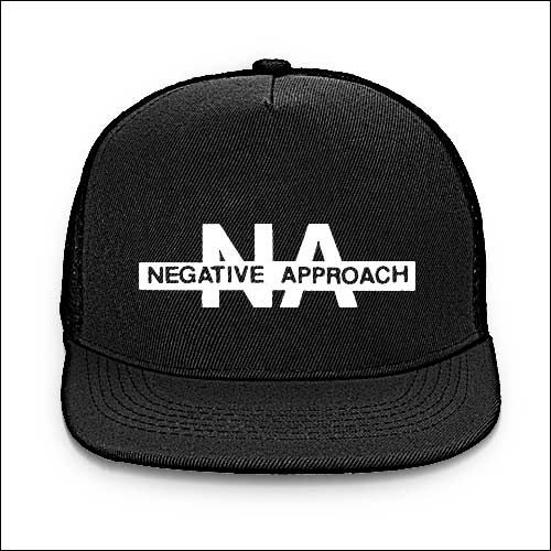 Negative Approach - Logo Baseball Cap