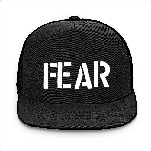 Fear - Logo Baseball Cap