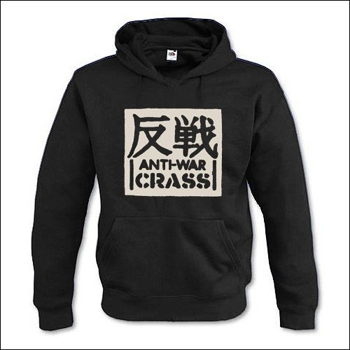 Crass -  Anti-War Hooded Sweater