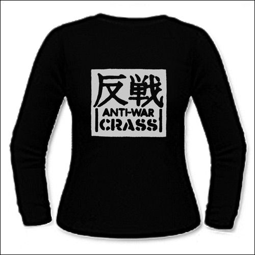 Crass - Anti-War Girlie Longsleeve