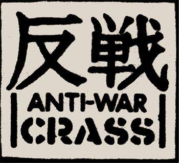 Crass - Anti-War Aufnäher