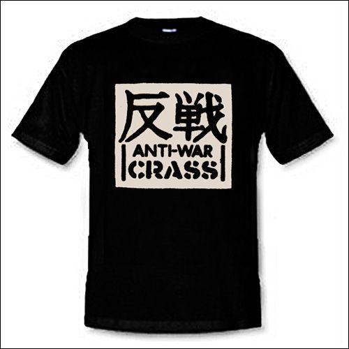 Crass - Anti-War Shirt