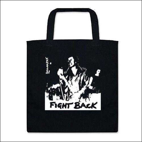 Discharge - Fight Back Tasche (Henkel kurz)