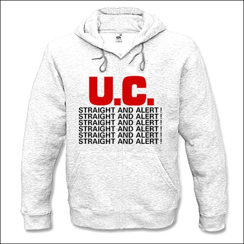 Uniform Choice - Straight And Alert Hooded Sweater