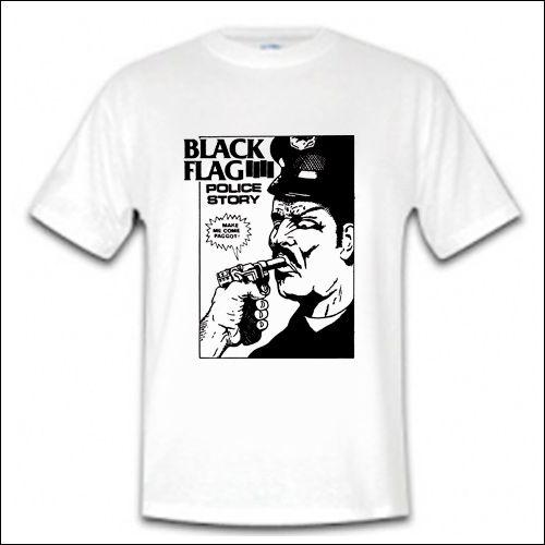 Black Flag - Police Story Shirt