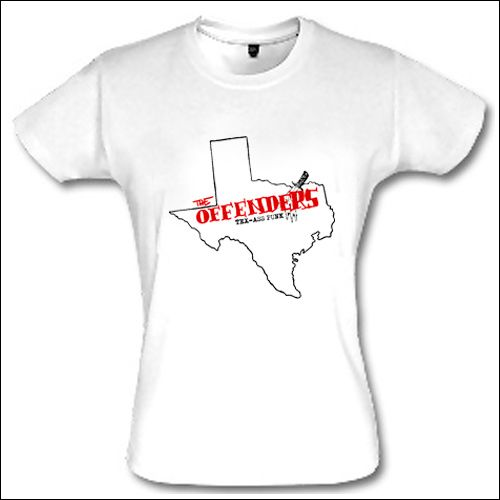 Offenders - Tex-ass Punk Girlie Shirt