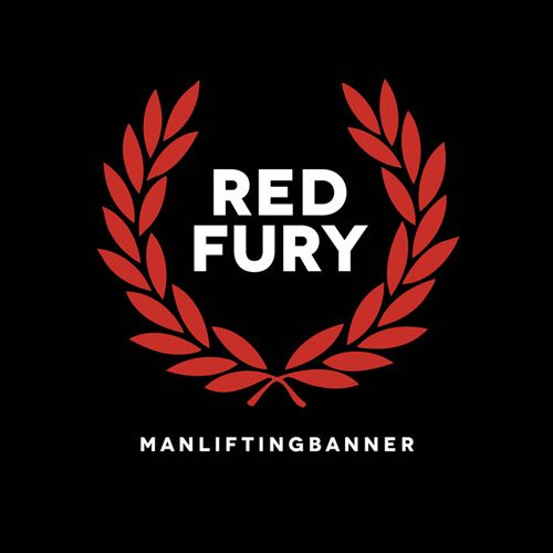 ManLiftingBanner - Red Fury LP