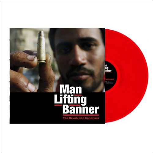 1x LP/ 2 CD Bundle incl. ManLiftingBanner 2xLP on red Vinyl