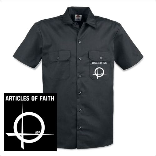 Articles Of Faith - Logo Workershirt
