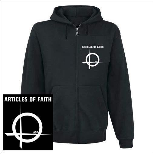 Articles Of Faith - Logo Zipper