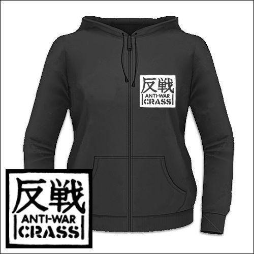 Crass - Anti-War Girlie Zipper