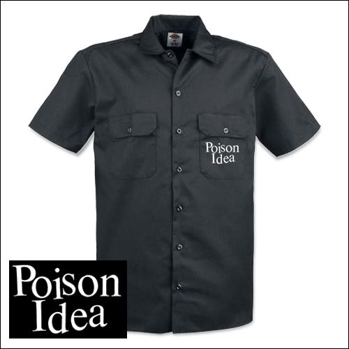 Poison Idea - Logo Workershirt