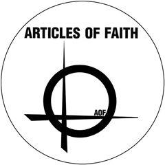 Articles Of Faith - Logo Button