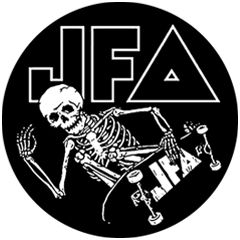 JFA - Skate To Hell Button