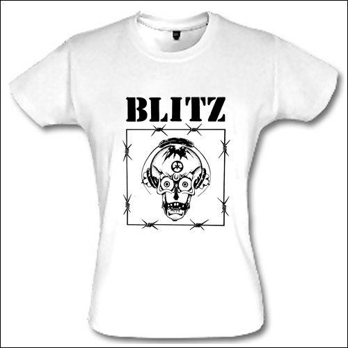 Blitz - Razor Skull Girlie Shirt