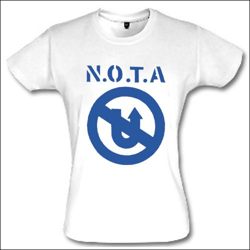 N.O.T.A. - Logo Girlie Shirt
