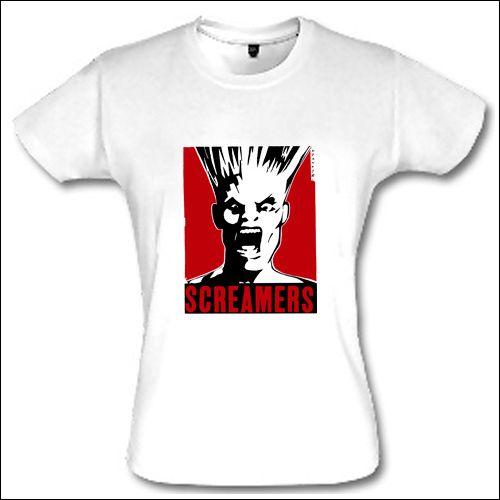 Screamers - Girlie Shirt
