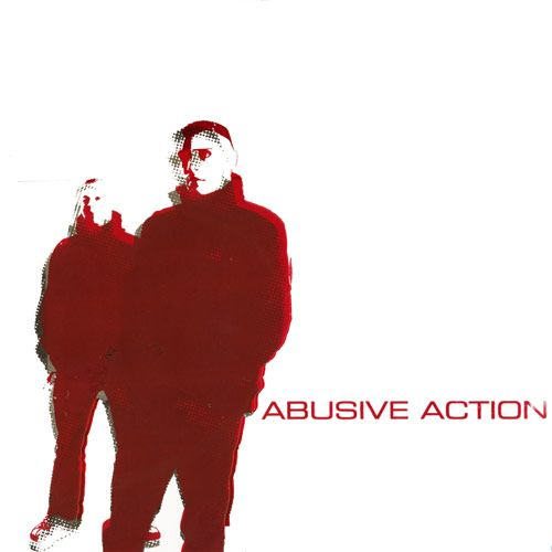 4 LP/ 1 CD Bundle inc. Abusive Action Pre-Release LP Siebdruckcover