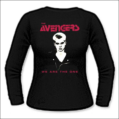 Avengers - You Are The One Girlie Longsleeve