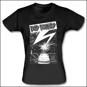 Bad Brains - Capital Girlie Shirt  (reduziert)