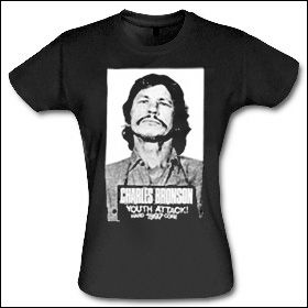 Charles Bronson - Youth Attack Girlie Shirt (reduziert)