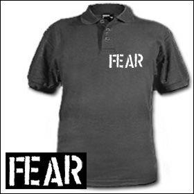 Fear - Logo Polo Shirt (reduziert)
