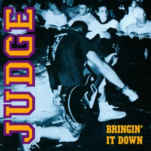 Judge - Bringin' It Down LP (Embossed Cover, 180gr. vinyl) LP