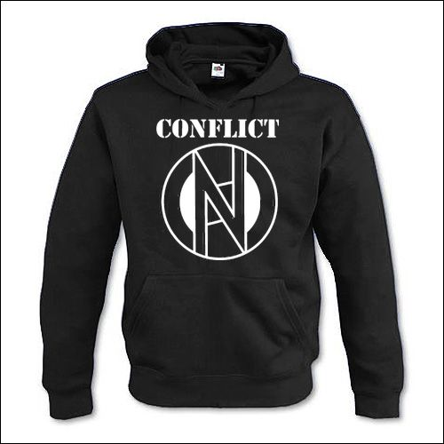 Conflict - Logo Hooded Sweater
