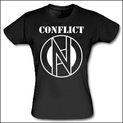 Conflict - Logo Girlie Shirt