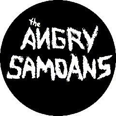 Angry Samoans - Logo Button