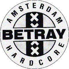 Betray - Amsterdam Hardcore Button