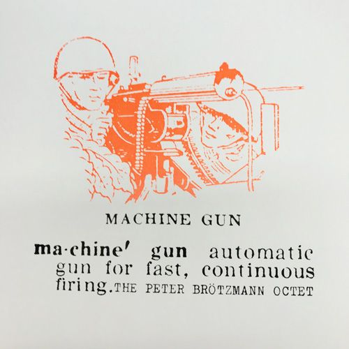 Peter Brötzmann Octet - Machine Gun LP