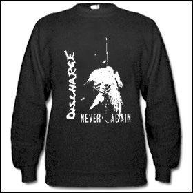 Discharge - Never Again Sweater (reduziert)
